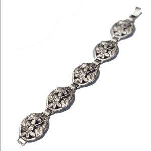 Vintage 𝐃𝐀𝐍𝐄𝐂𝐑𝐀𝐅𝐓 Sterling Bracelet